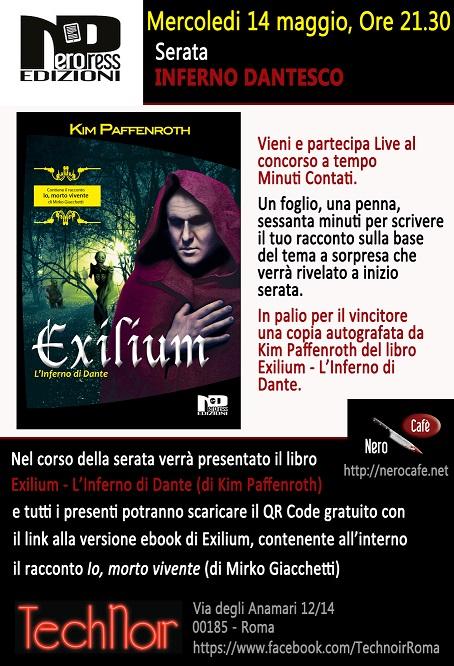 locandina presentazione Exilium2