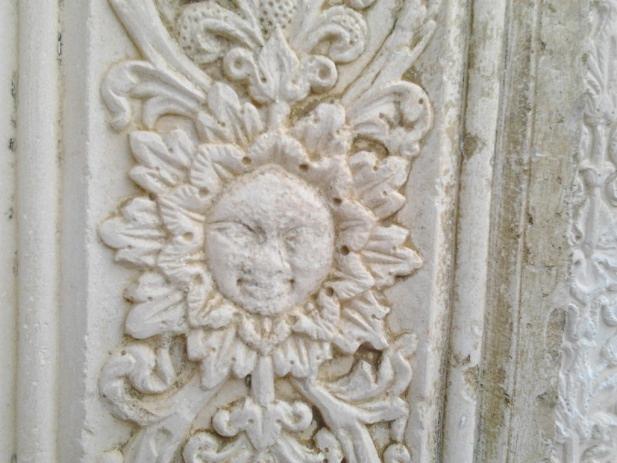 Particolare della Chiesa Medievale di Tossicia